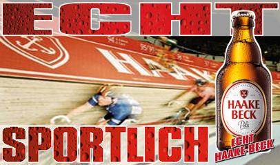 Haake-Beck beim Sechs-Tage-Rennen in Bremen