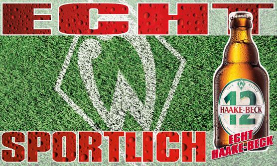 Haake-Beck mit Werder-Bremen Logo